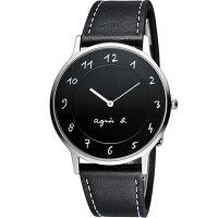 agnès b.眼鏡推薦到agnes b.法式優雅手寫體時標時尚腕錶 BJ5005X1  VJ20-K240Z就在寶時鐘錶推薦agnès b.眼鏡