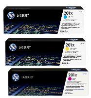 HP ㊣原廠碳粉匣 HP 201X (CF401X藍色,CF402X黃色,CF403X紅色) 碳粉匣 顏色單支任選適用HP Color LaserJet Pro M252dw/M252n/M277dw