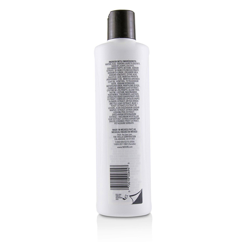 儷康絲 Nioxin - 潔淨系統1號潔淨洗髮露Derma Purifying System 1 Cleanser Shampoo (細軟髮/原生髮)