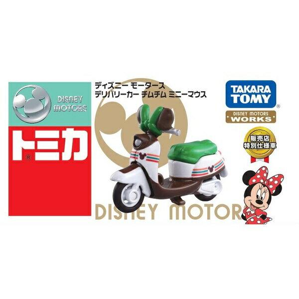 【真愛日本】18050800011 TOMY特仕車-日本7-11限定米妮摩托車 Tomica 日本7-11限定米妮摩托車 多美小車