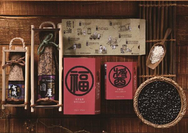 鏡感樂活市集:味榮展康台灣(春福醬)竹節大禮盒2選1