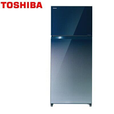 TOSHIBA 東芝 GR-HG55TDZ 505L 一級能耗雙門鏡面變頻電冰箱 熱線:07-7428010