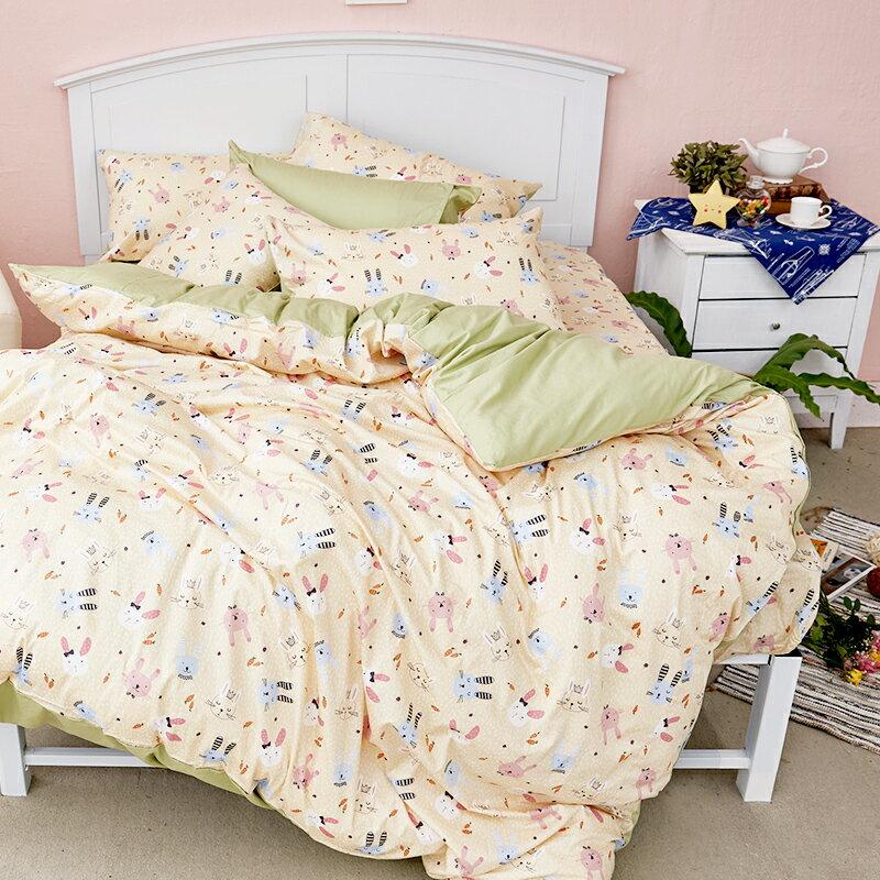 床包  /  雙人-100%精梳棉【妮妮公主】含兩件枕套 戀家小舖 好窩生活節  台灣製 4
