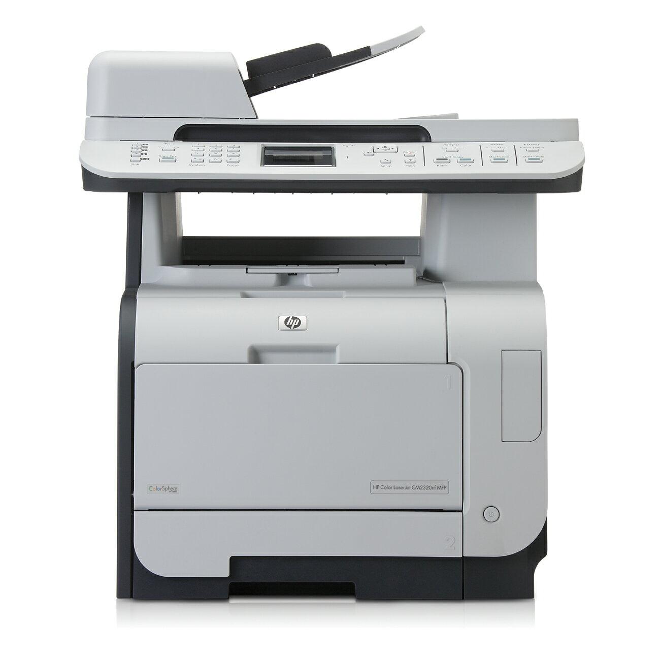 Refurbished HP LaserJet CM2320nf Multifunction Color Laser Printer 0