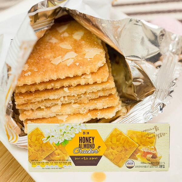 韓國海太蜂蜜杏仁餅乾 3包/盒裝【AN SHOP】