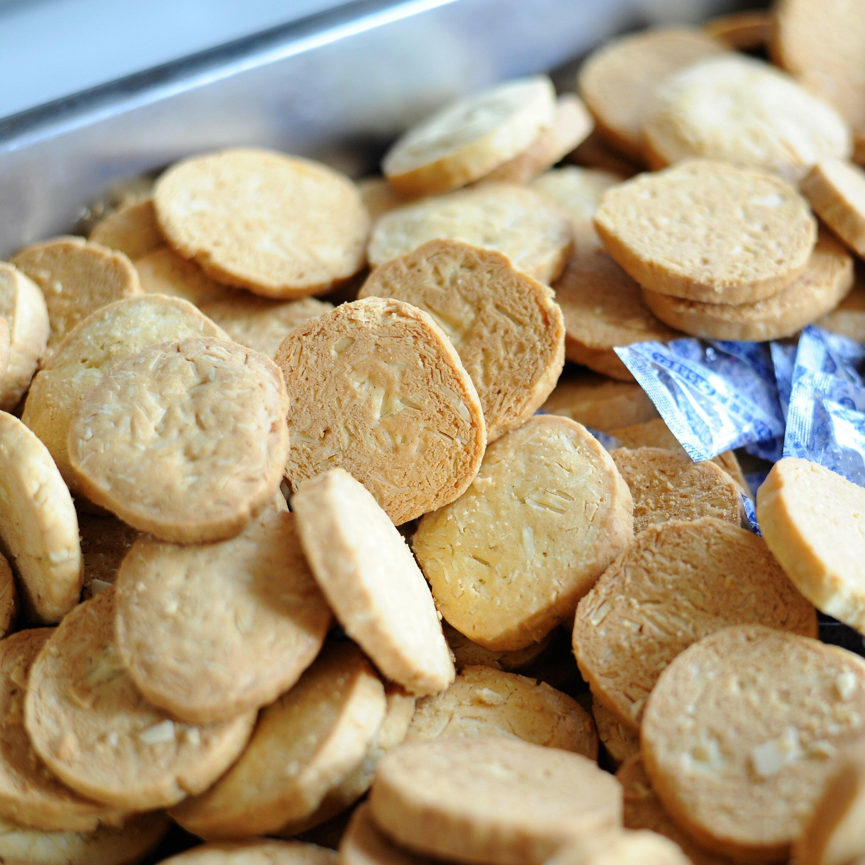 杏仁口味 手作餅乾 甜點 下午茶 零食 手工餅乾 伴手禮 健康 無添加  無防腐劑 無香精 無色素
