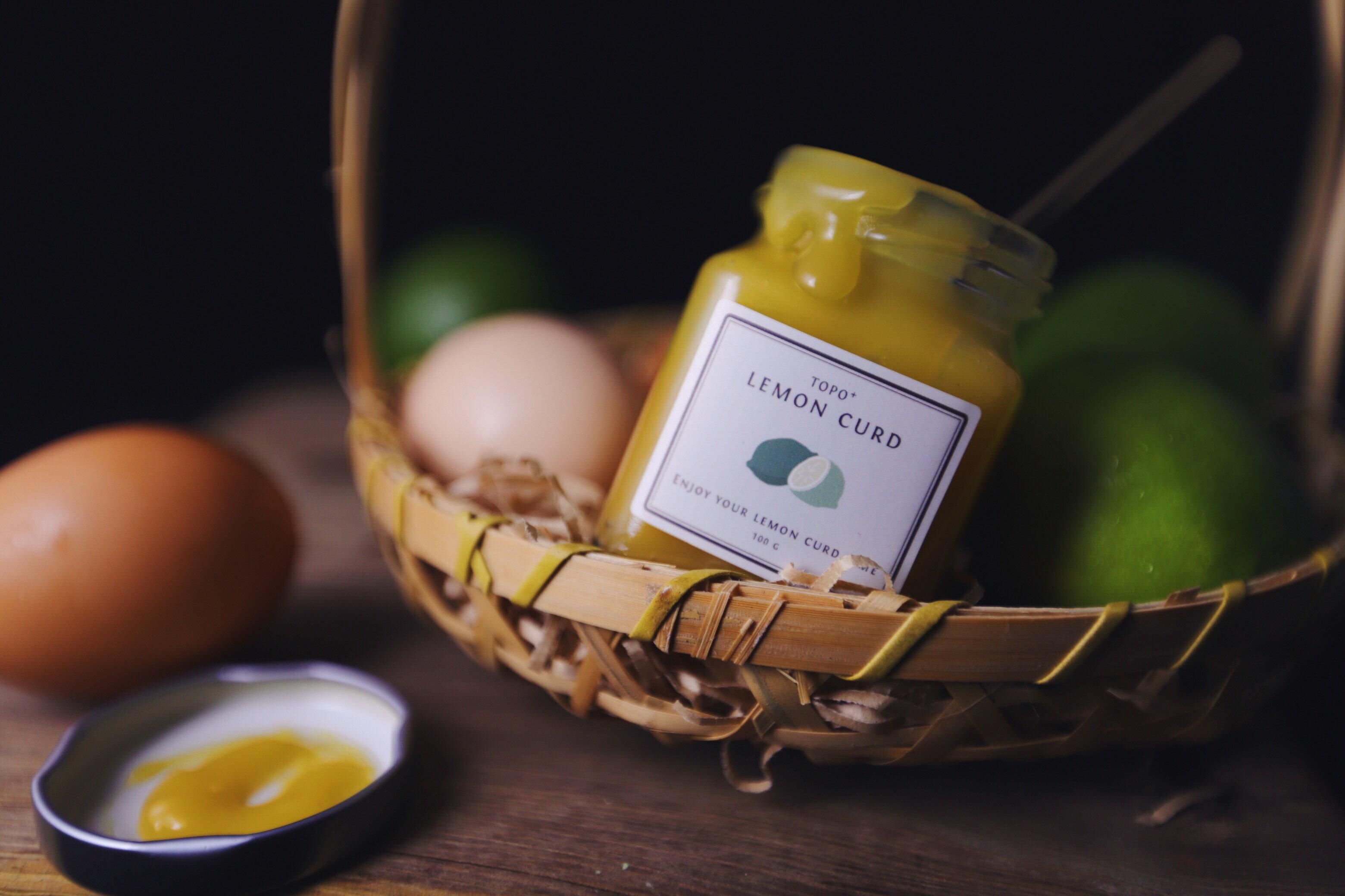 【拓樸本然Topo】檸檬蛋香抹醬 手工抹醬(100g) 酸甜滋味超人氣