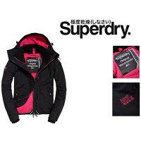 Superdry極度乾燥-女外套/風衣推薦到(Smile) Superdry 女装 經典舊款 連帽防風夾克 黑桃紅就在Smile推薦Superdry極度乾燥-女外套/風衣