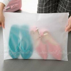 旅行自封袋XL (45x35cm) 衣物分類袋 透明防水收納包 旅行收納袋【DX205】◎123便利屋◎