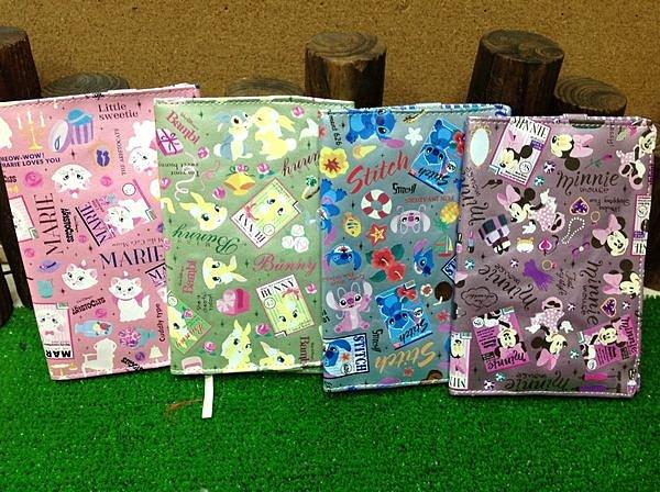 =優生活=日本原裝迪士尼系列史迪奇 邦妮兔 瑪莉貓 米妮手帳本 筆記本書套 護照套