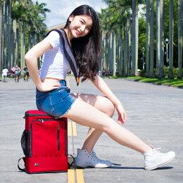 椅子 電腦包 旅行包 防身 書包 後背包 紅色