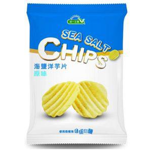 統一生機~海鹽洋芋片(原味)50公克/包~
