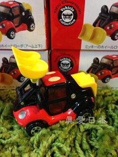 【真愛日本】16041600016限定樂園小車-米奇推土機   海洋迪士尼 迪士尼樂園