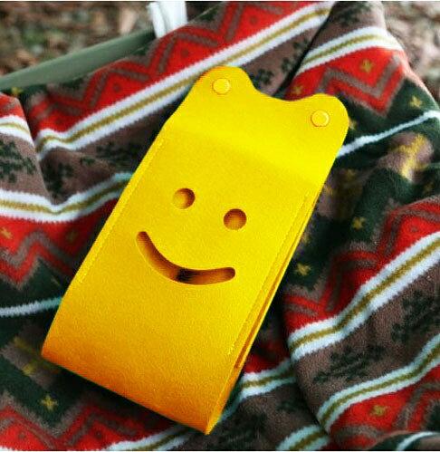 ├登山樂┤Ridge Line 彩色微笑面紙盒 - 黃色 #OT867277YE