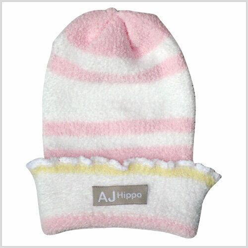 小河馬針織嬰兒帽 1