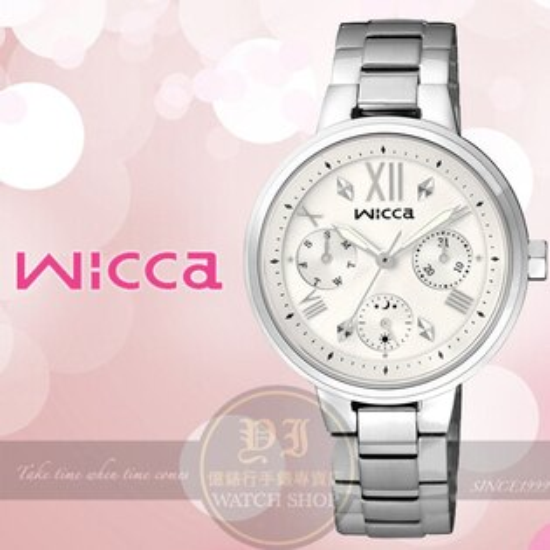 CITIZEN日本星辰Wicca系列美妙時刻日曆腕錶33mmBH7-512-11公司貨禮物情人節