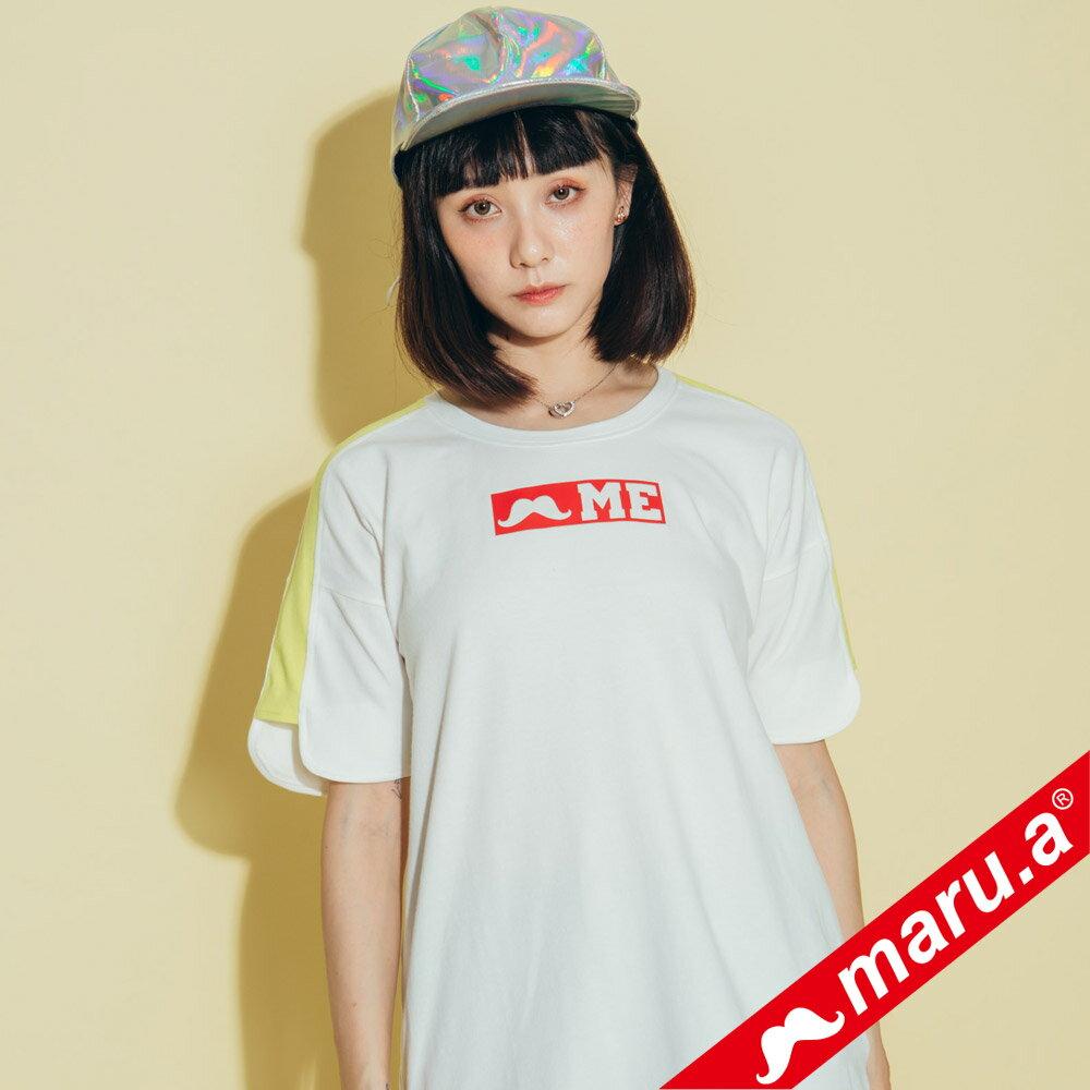 【maru.a】鬍子ME印花T-Shirt(2色)8321319 2