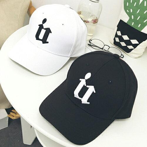 棒球帽/鴨舌帽 字母 嘻哈 運動 遮陽帽 棒球帽【QI8517】 BOBI  09/01 0