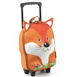 德國okiedog 3D動物造型兒童行李箱-狐狸