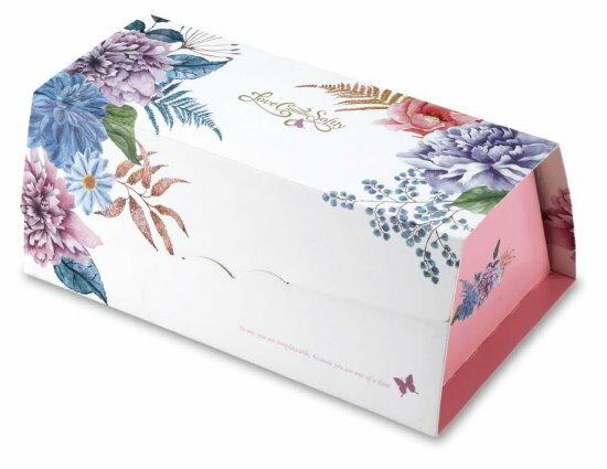 【零售量】生乳捲盒愛在春天50個