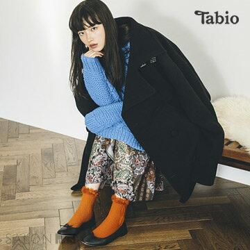 【靴下屋Tabio】毛毛結繩圖案短襪  /  日本職人手做 1