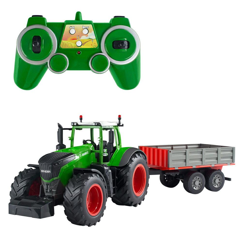【瑪琍歐玩具】2.4G 1:16遙控農夫自卸車套裝 /  E354-003 1