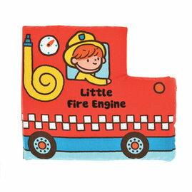 【淘氣寶寶】奇智奇思 K's Kids 小小消防車 感官●學習●布書【保證公司貨●品質有保證●非水貨】