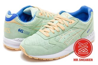 ☆Mr.Sneaker☆ ASICS Tiger Gel SAGA H6A0L7474 果綠 粉綠 亮色 男女段