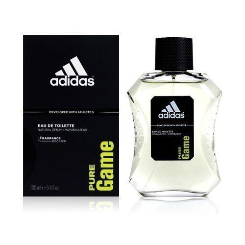 ADIDAS 愛迪達 PURE GAME 極限挑戰 運動男性香水 100ml (完整盒裝)