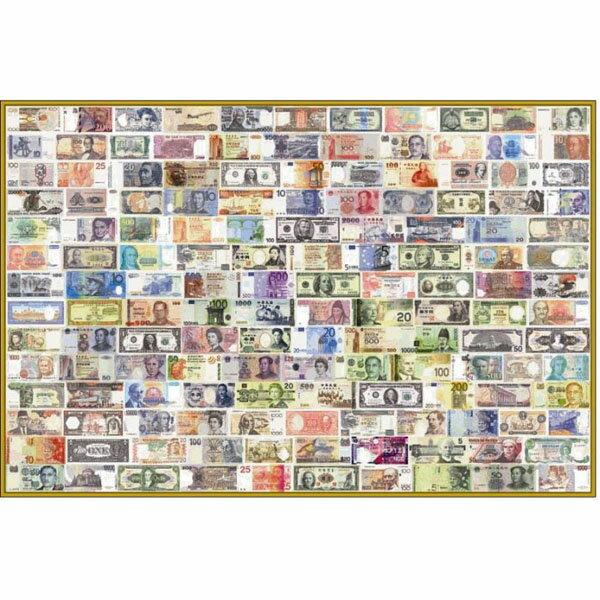 【P2 拼圖】世界紙鈔拼圖 1000片 01-002