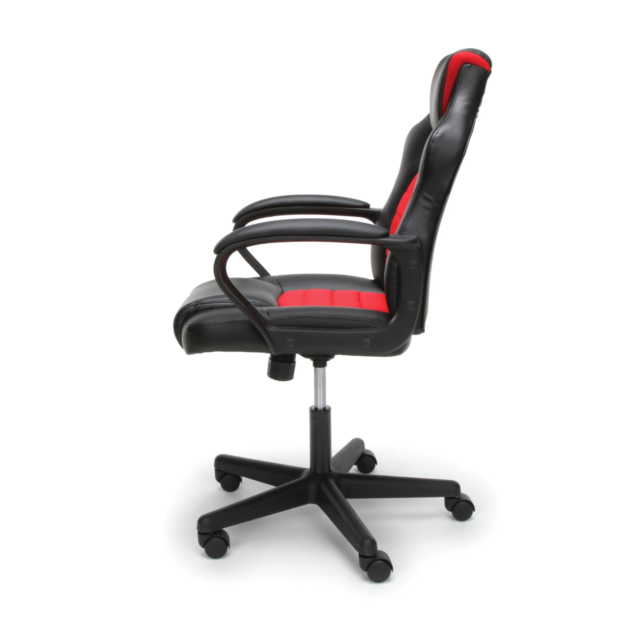 Essentials by OFM ESS-3083 Racing Style Gaming Chair, Red 3