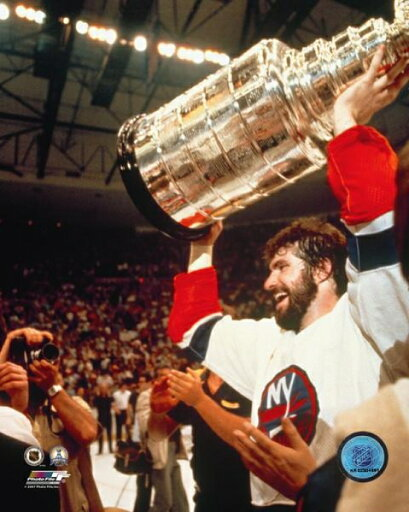 Clark Gillies with the Stanley Cup Photo Print (11 x 14) 972ebb682ba6bf50facbff8c9883e9b1