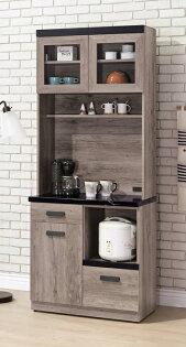 【尚品傢俱】HY-A415-06狄恩石面2.7尺餐櫃~~另有2.7尺餐櫃下座~~