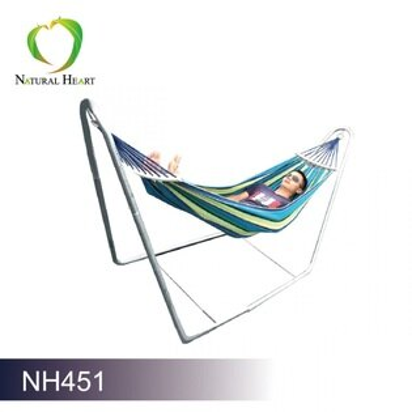 NaturalHeart豪華雙人防側翻吊床組合NH451