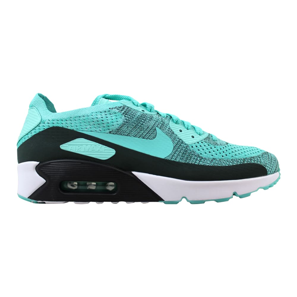 Nike Air Max 90 Ultra 2.0 Flyknit Hyper Turquoise 875943 301 Men's Size 13