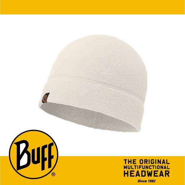 BUFF 西班牙魔術頭巾 POLAR保暖系列 保暖帽 [素面白] BF110929-014-10