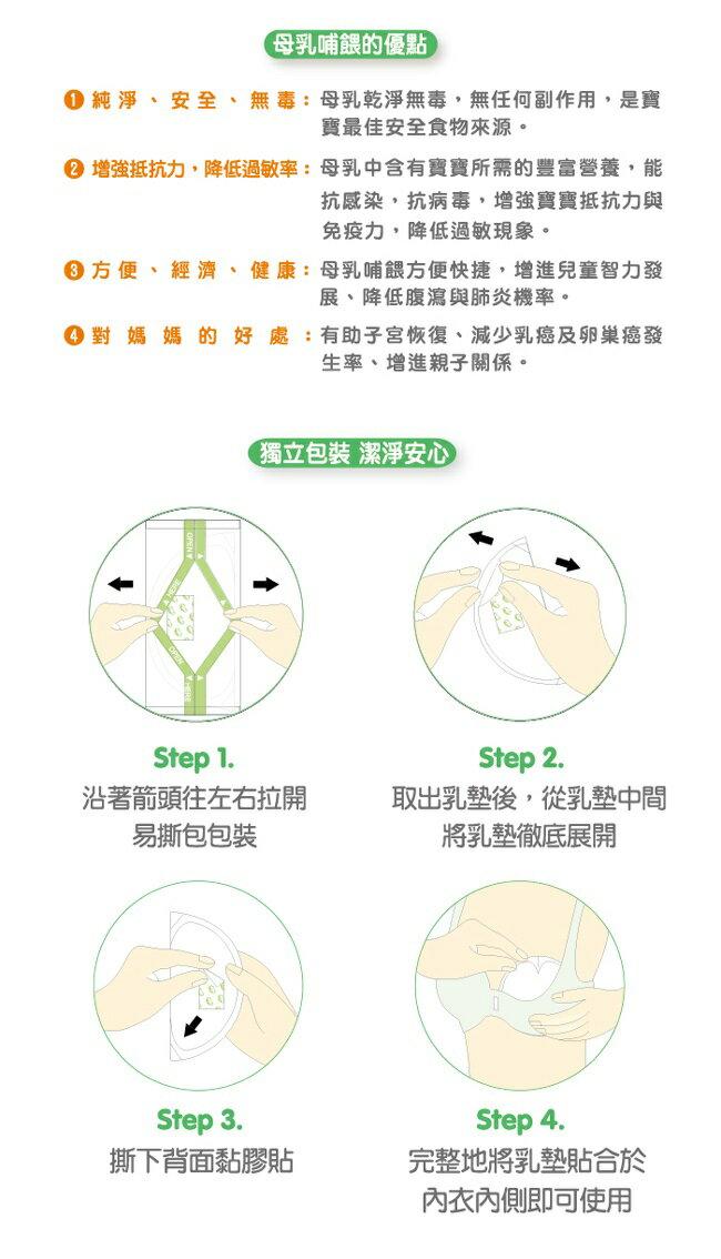 nac nac - 3D隱形防溢乳墊 30+6入 (獨立包裝) 3