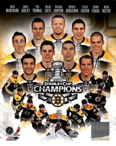 Boston Bruins 2011 NHL Stanley Cup Championship Composite Photo Print (16 x 20) 612d82affe10cefaf93b59af5b700482