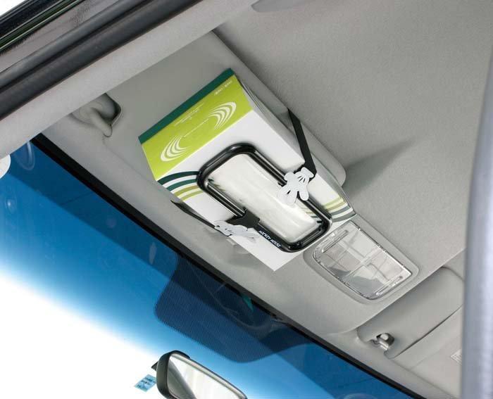 權世界@汽車用品 日本 NAPOLEX Disney 米奇 面紙盒扣帶 置物架 WD-185