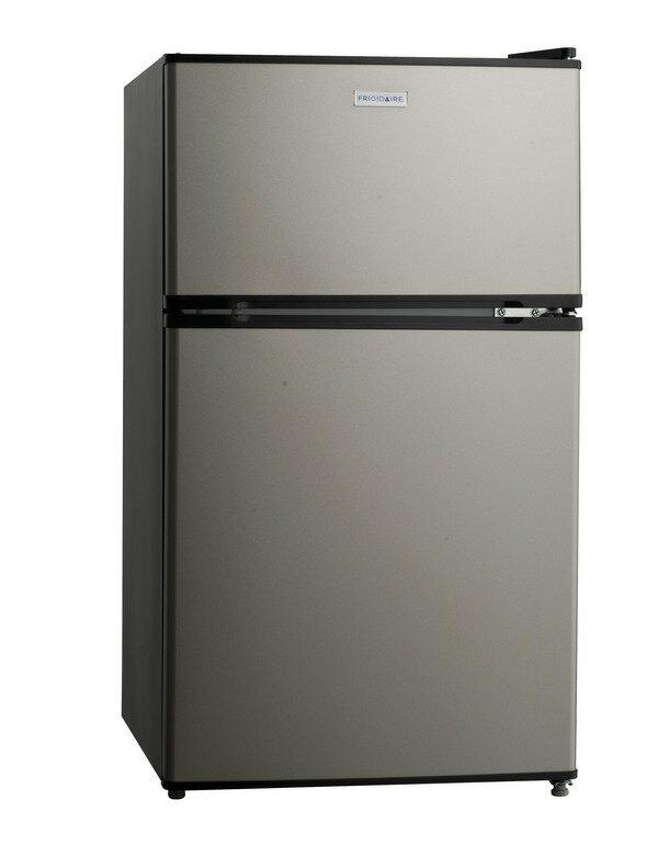 現貨到 美國富及第 Frigidaire E-STAR系列 90L雙門冰箱 FRT-0905M 超好用★小空間大容量 冷凍溫度可達-18度C