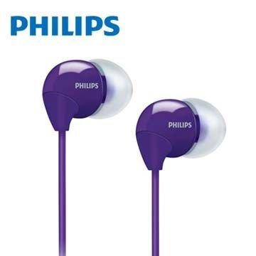 【迪特軍3C】PHILIPS 飛利浦 SHE3590 耳塞式耳機 紫色