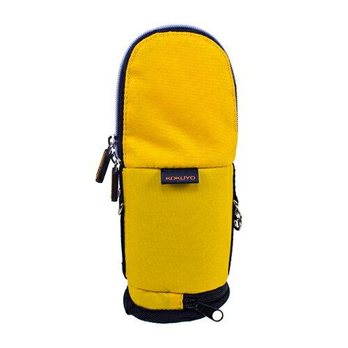 【KOKUYO】  critz多功能直立式筆袋-小(鵝黃) PS008-Y