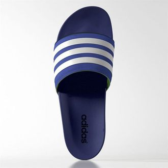 Adidas Adilette Supercloud Plus Slide 拖鞋 男鞋 軟底 藍 【運動世界】 S77660