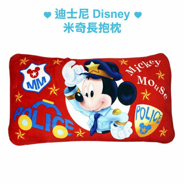 迪士尼 米奇長抱枕/警長/米老鼠/沙發枕/靠枕/LAIBAO蕾寶生活廣場