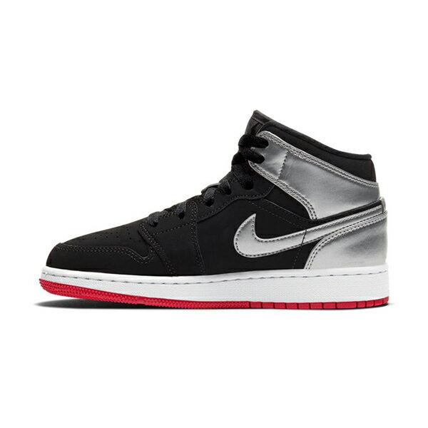 【NIKE】AIR JORDAN 1 MID BG 運動鞋 飛人 中筒 籃球鞋 女鞋 大童 -554725057