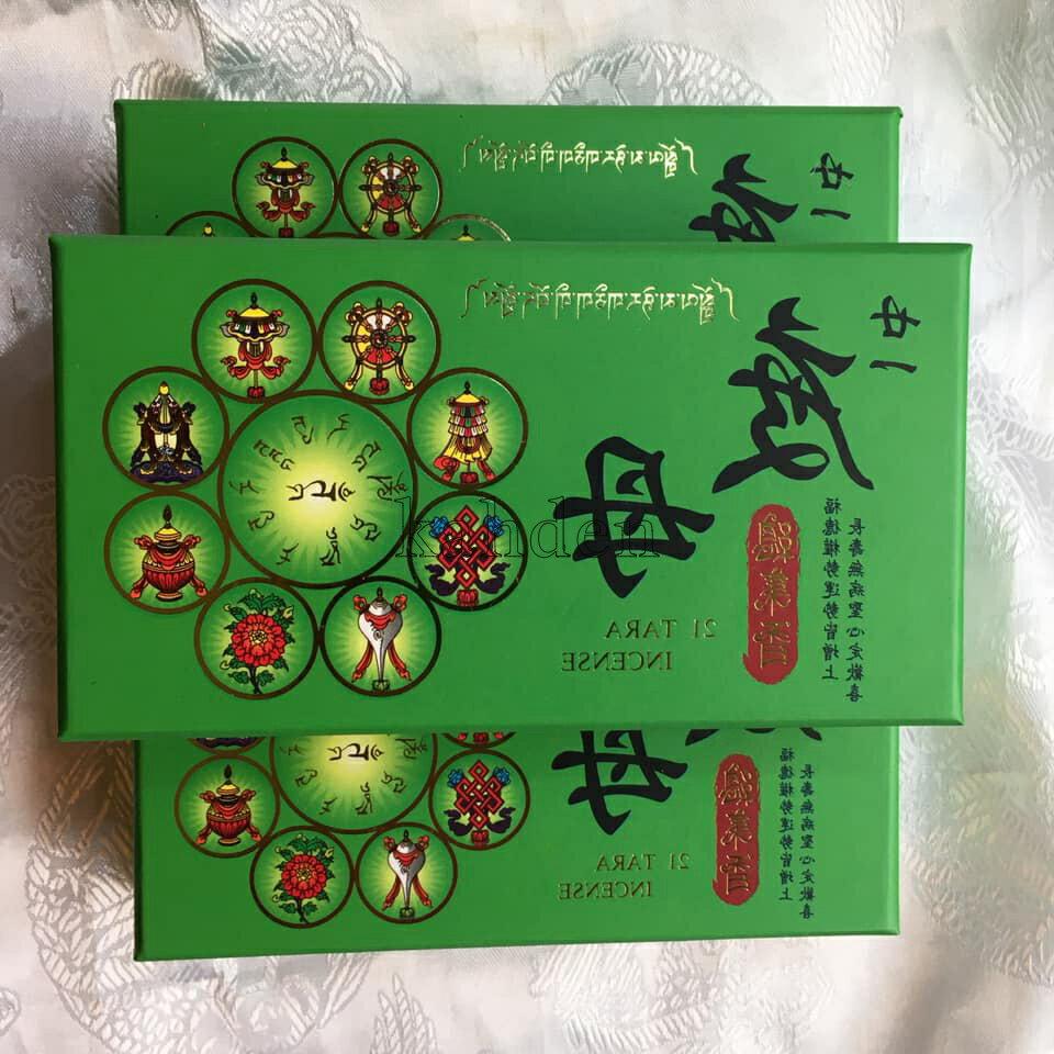 ^_^ 21度母 2小時環香(3盒超取免運)
