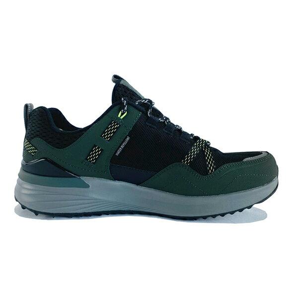 SKECHERS【237032WOLBK】TR Ultra 健走鞋 戶外運動鞋 防潑水 橡膠底 寬楦 記憶鞋墊 黑灰墨綠 男生