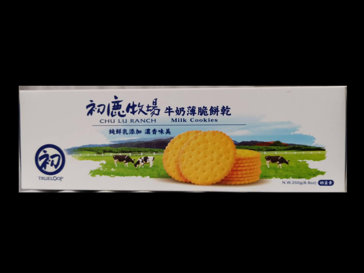 初鹿牧場牛奶薄脆餅乾    250g