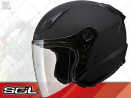 SOL安全帽|SO-2 / SO2 消光黑 半罩帽