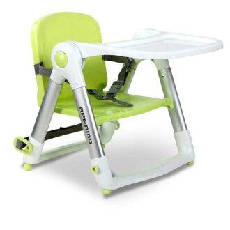★衛立兒生活館★英國 Apramo Flippa dining booster 可攜式兩用兒童餐椅(QTI)-糖果綠(贈送兩用提袋)